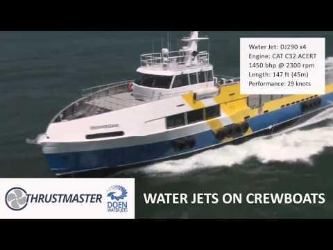 Thrustmaster DOEN Water Jets