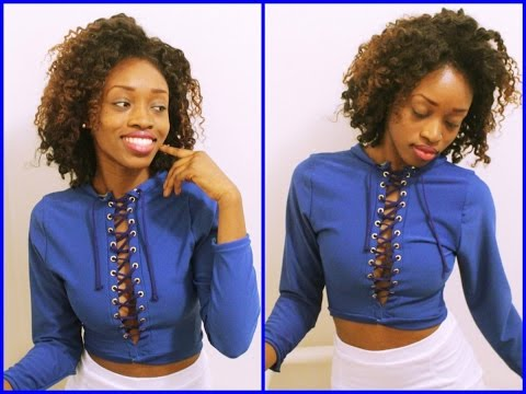 DIY: Adding Grommets to Clothing (Asymmetric Top)