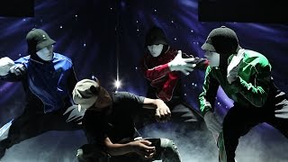 Jabbawockeez Step Up All In Boneless