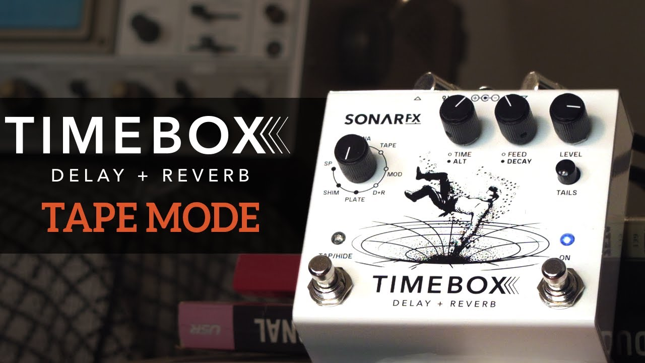 SonAr fx - Timebox Delay + Reverb - Modo Tape