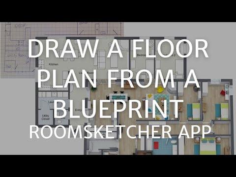 Draw a Floor Plan From a Blueprint - Home Designer App