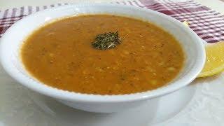 GERÇEK lokanta usulü ezogelin çorbası nasıl yapılır | tam kıvamında