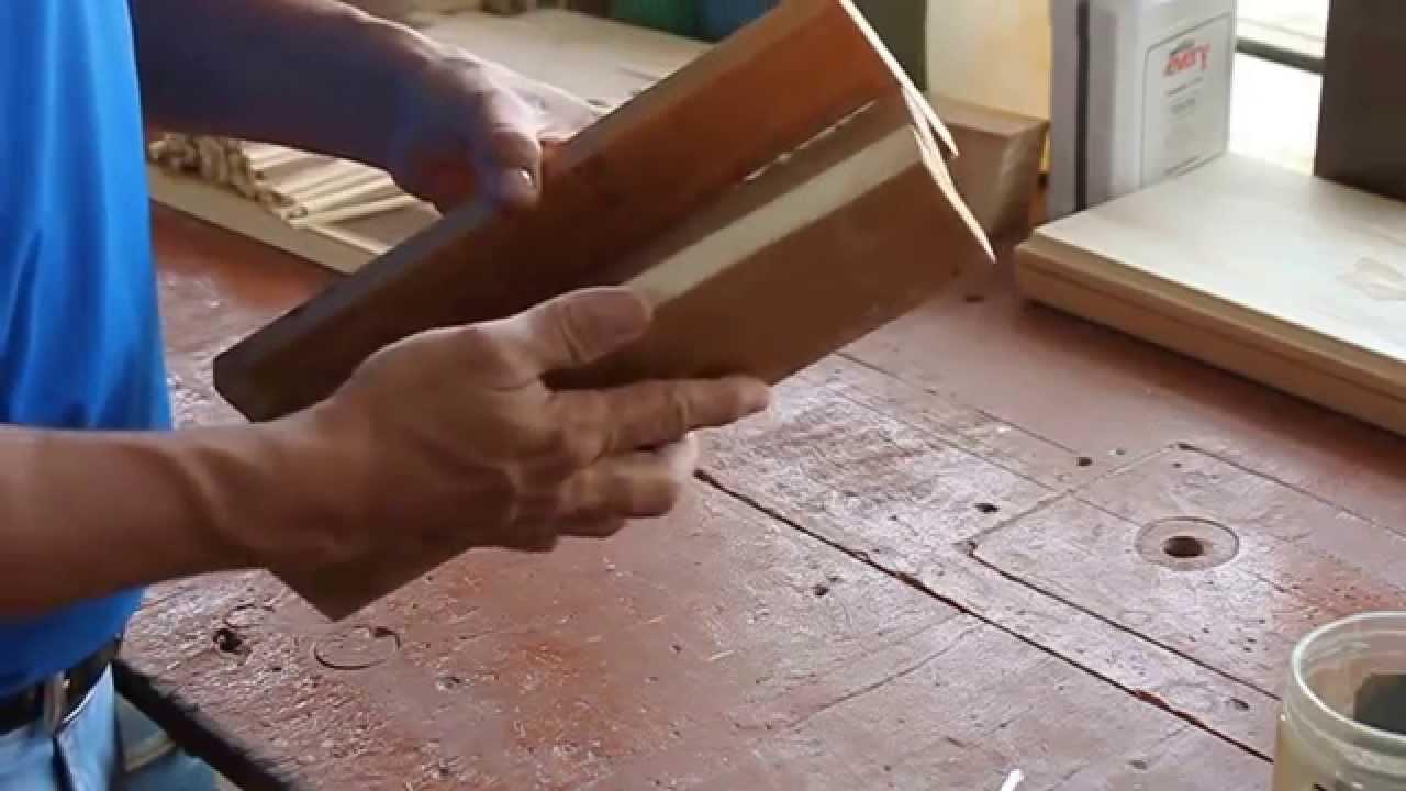 Caja de ingletes - YouTube