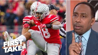 If Georgia loses, I want Ohio State in over Oklahoma - Stephen A. | First Take