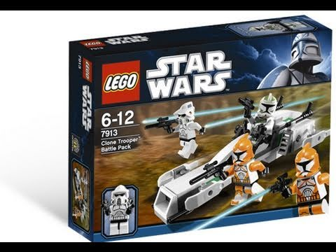 LEGO Star Wars 7913 Clone Trooper Battle Pack™ Review - YouTube