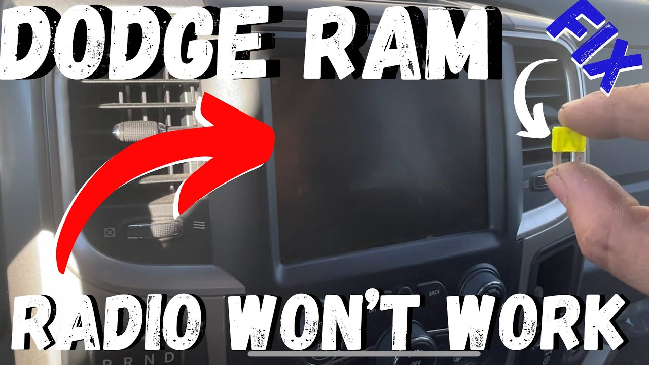 Download Dodge Ram radio doesn't work