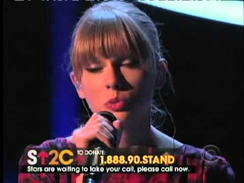 """taylor-swift-""""ronan""""-performance-(stand-up-to-cancer)"""