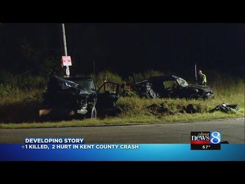 1 dead, 2 hurt in crash near Kent City
