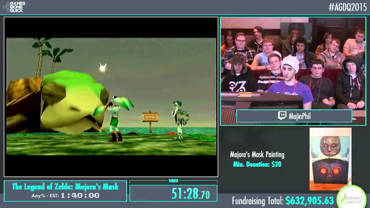 Awesome Games Done Quick 2015 Part 154 The Legend Of