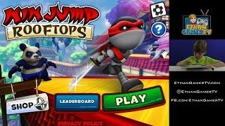 Let's play Mobile Games! I'M A JUMPING NINJA!!
