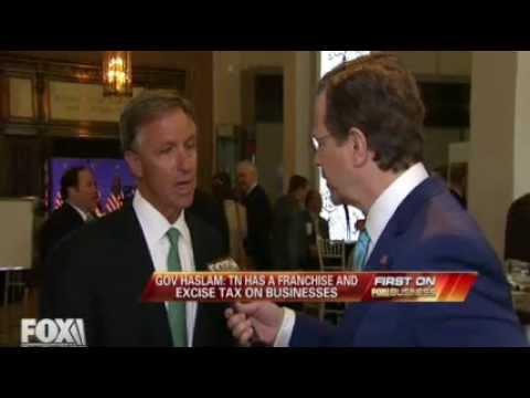 Gov. Bill Haslam on Fox Business with David Asman