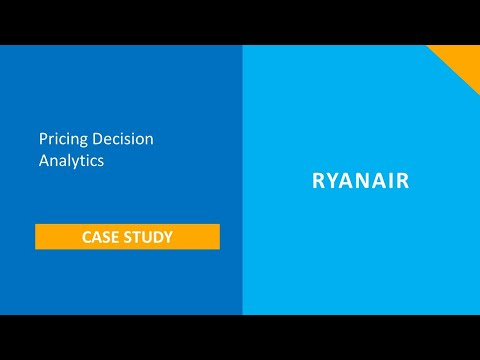 Ryan Air Case Study: Pricing Decision Analytics
