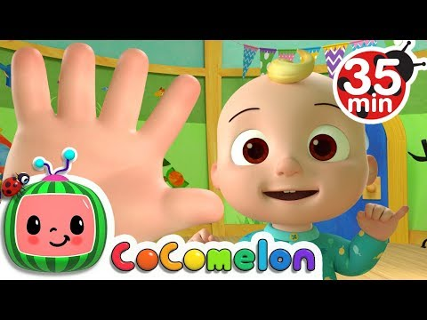 Finger Family  + More Nursery Rhymes & Kids Songs  ABCkidTV