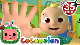 Finger Family | +More Nursery Rhymes & Kids Songs - Cocomelon (ABCkidTV) thumbnail