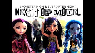 Monster High/Ever After High NEXT TOP MODEL Stop Motion Episode Four- JUNGLE