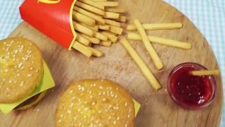 Чизбургер и жареная картошка = диабет и больная печень