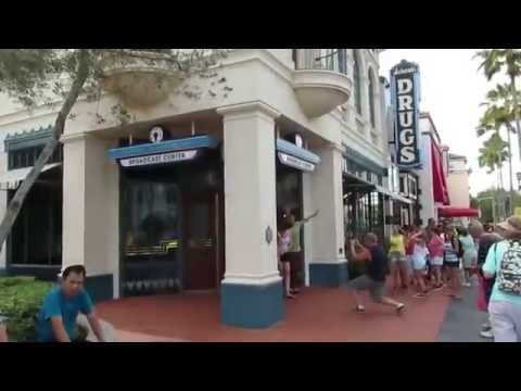Tour Of Radio Broadcast Center Universal Studios Orlando Florida