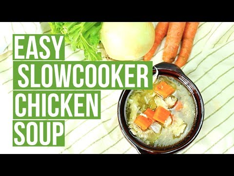 Keto Slowcooker Chicken Soup | Cook Eat Paleo