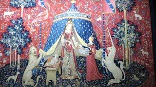 パリ「クリュニー中世美術館」、Musée national du Moyen Âge 、Musée de Cluny 、「貴婦人と一角獣」