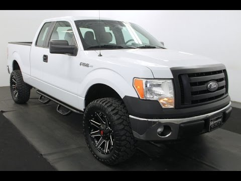 Ford F 150 Lifted >> Video Walk Around - 2011 Ford F-150 XL Super Cab - Stock Number AB47152 - YouTube