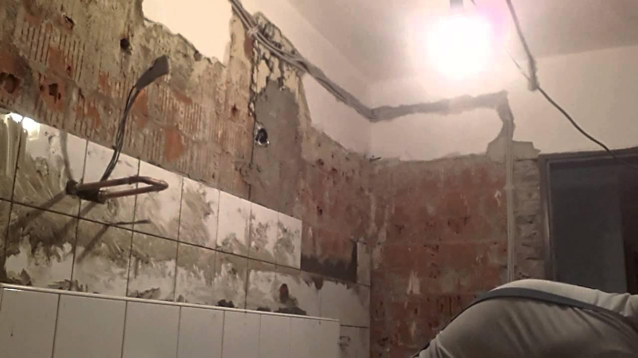 Fliesenleger Fliesen Im Dickbett YouTube - Fliesen in speis entfernen