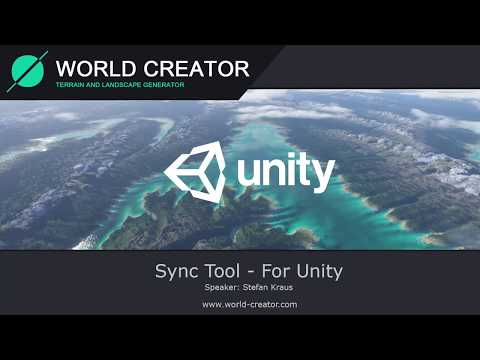 World Creator Sync-Tool for Unity