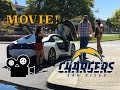 I drove our BMW i8 in a MOVIE for my CHARGERS friend!