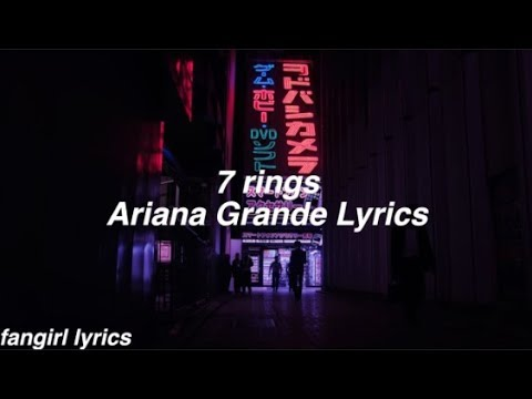 Download 7 rings || Ariana Grande Lyrics