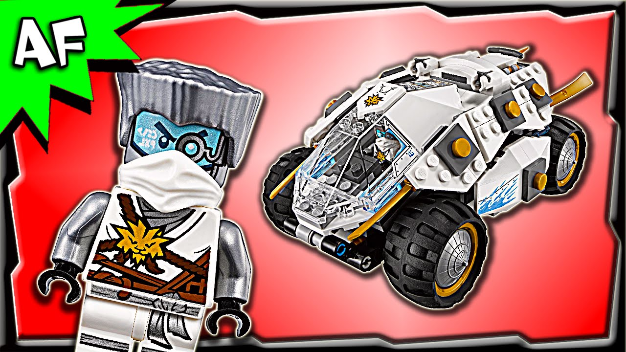 LEGO Ninjago Zane Titanium from 70588  LEGO®