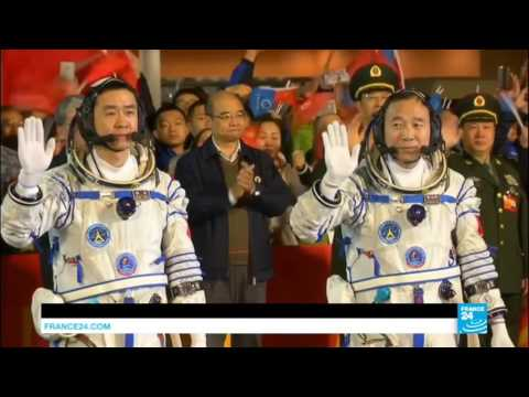 China Beijing launches 2 taikonauts on its longest crewed space mission yet