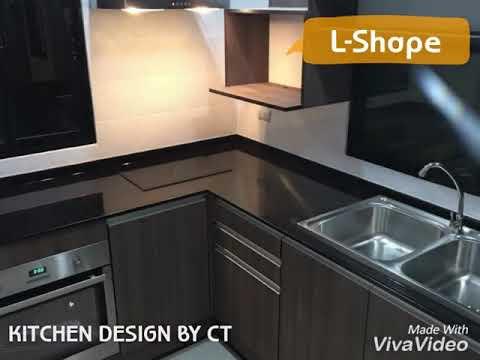 LShape By Kitchen Design By CT ครัวบิวท์อินรูปตัว L Interior Design Impressive Kitchen Design Ct