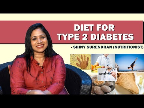 Diet for Type 2 Diabetes |Nutritionist Shiny Surendran | | JFW Healthy Eating |Tamil Video thumbnail