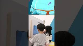 공룡 범퍼카 게임ㅣ여러명이서 할수 있는 멀티터치 게임기…