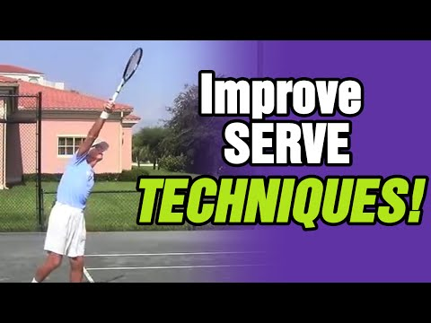 How To Prevent Serves In The Net - Tennis Lesson With Tom Avery