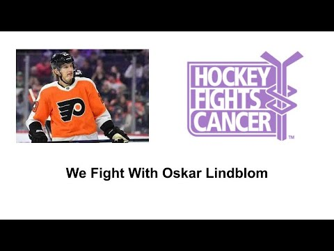 Flyers' Oskar Lindblom diagnosed with rare bone cancer Ewing's ...