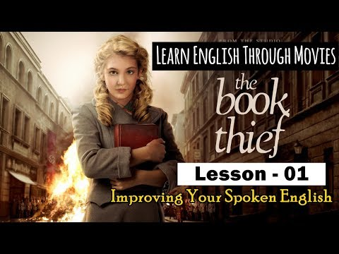 Learn English Through Movies | The Book Thief | Part 01 | For French, Indonesian and Bengali