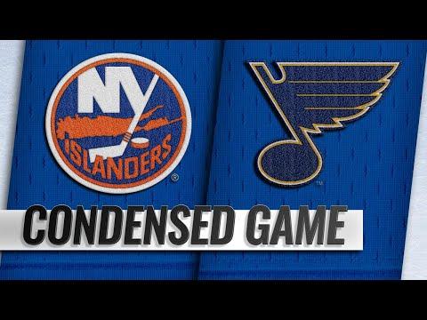 01/05/19 Condensed Game: Islanders @ Blues