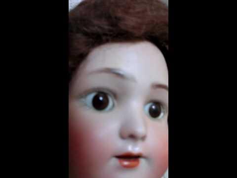 19 Heinrich Handwerck Simon Halbig Antique Bisque Head Composition Doll