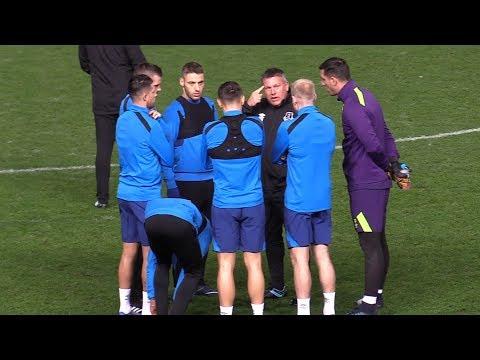 Everton Train Ahead Of Apollon Limassol Europa League Match
