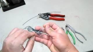 Chia Sẻ Cách Đan Lưới và Làm Bẫy Đánh Chim Cút / Đa Đa / Thỏ ...Video # 14