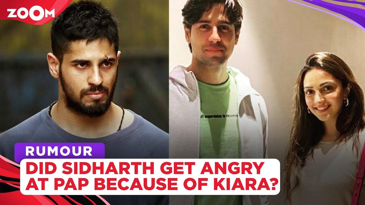 Did Sidharth Malhotra lose his cool at paparazzi because of Kiara Advani?