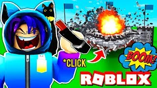 BECOMING THE MOST EVIL PLAYER IN ROBLOX! Destruction Simulator | Maxmello
