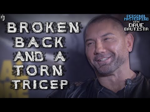 The WORST Injury Of My Career Was...  Ft. Dave Bautista  PersonalMastermind