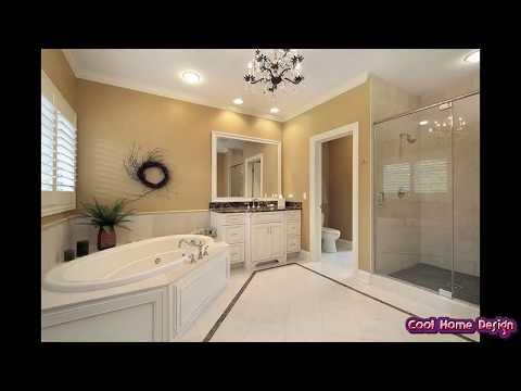 White Ceramic Tile Bathroom