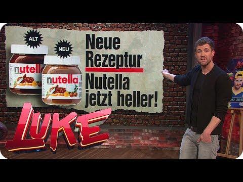 Skandal! Nutella ändert Rezeptur - LUKE! Die Woche und ich | SAT.1