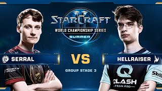 Serral vs HellraiseR ZvP - Group Stage 3 - WCS Summer 2019