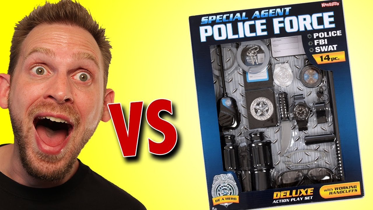 Download Special Agent Police Force Deluxe Action Play Set Unboxing