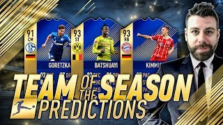 BUNDESLIGA TOTS VOTING based off of IRL GAME STATS!!! FIFA 18 Team Of The Season