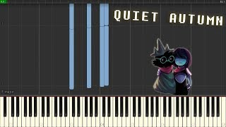 Delta Rune OST - Quiet Autumn [Piano Synthesia + Sheets]