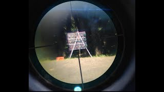 光線銃FirsGun ファスガン 赤外線銃の射程距離と命中範囲(標準設定) thumbnail